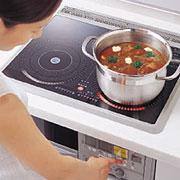 IHクッキングヒーターならむずかしいお料理も簡単にできます