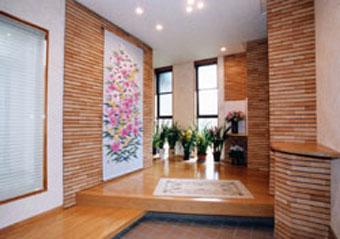 外張り工法の高気密高断熱住宅