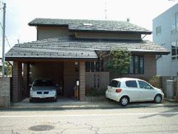 高気密高断熱のやわらぎの家です。大きなサンルームがあります